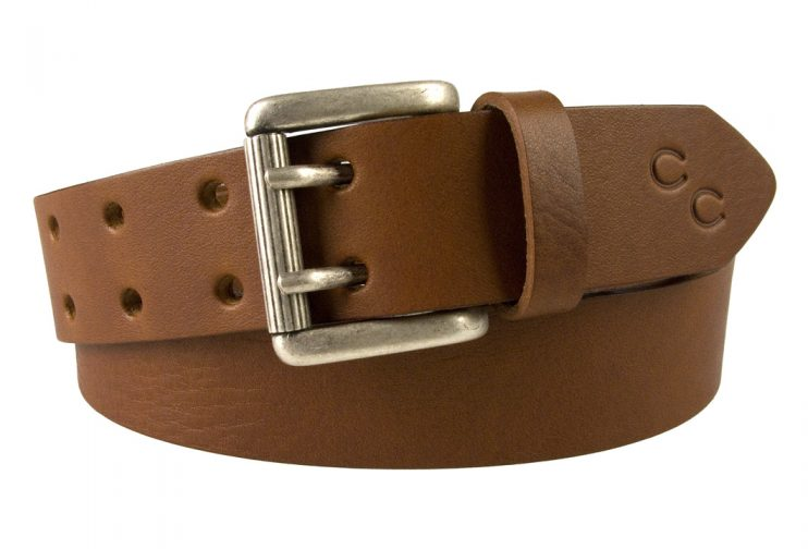 Ladies Tan Leather Belt. High quality leather belt made in the UK by Champion Chase.